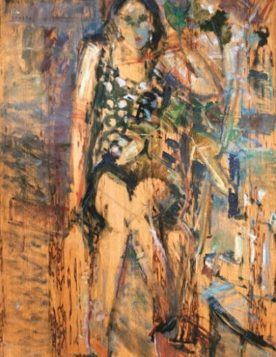 Catherine, 1991, oil on hardboard, 118x88cm
