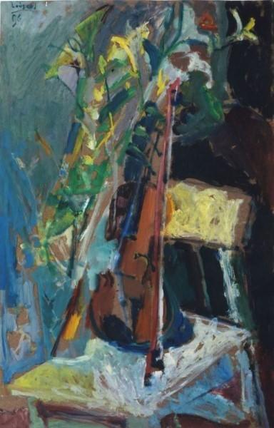 Elgar Collection, 1996, oil on hardboard, 85x55cm