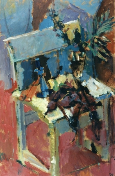 Elgar Collection, 1996, oil on hardboard, 86x54cm