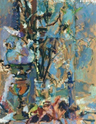 Elgar Collection, 1996, oil on hardboard, 86x55cm