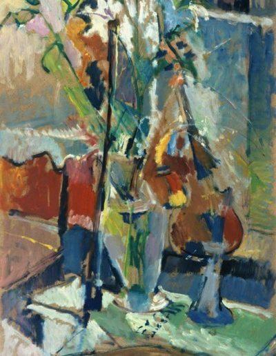 Elgar Collection, 1996, oil on hardboard, 83x53cm