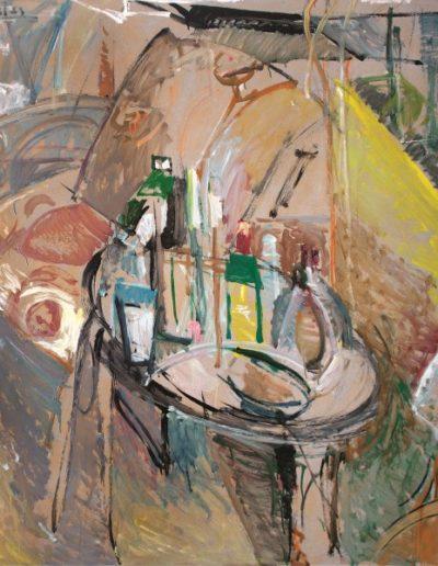 Empty world, 1992, oil on hardboard, 141x122cm