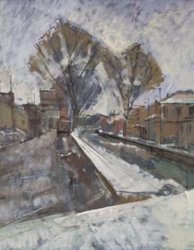 Florina, 1978, oil on hardboard, 60x48cm