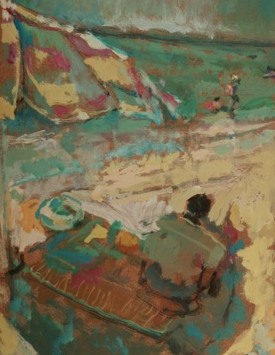 I can't see Amelia, 2004, oil on hardboard, 33x24cm