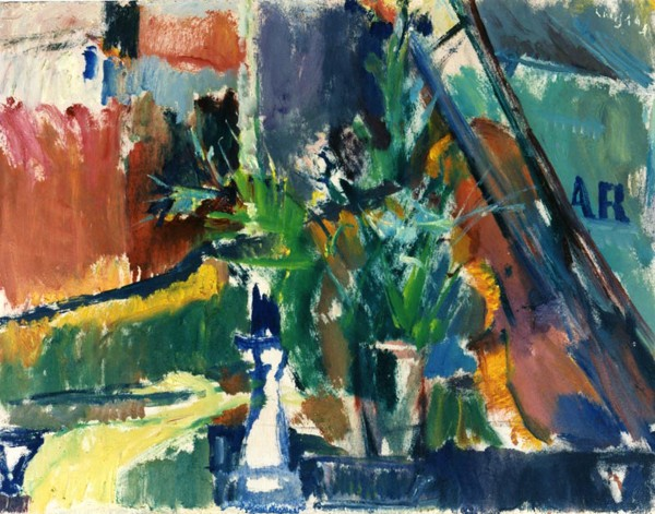 Elgar Collection, 1996, oil on hardboard, 44x57cm