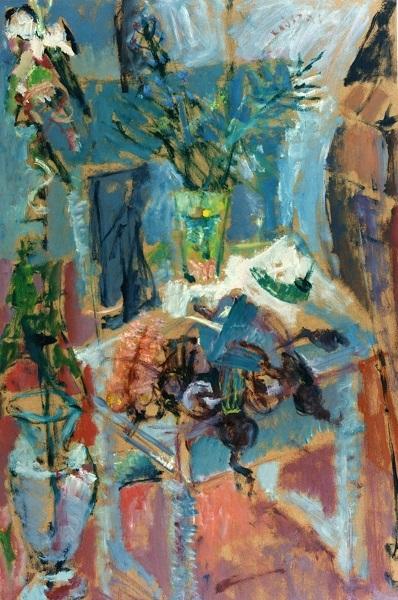 Elgar Collection, 1996, oil on hardboard, 87x56cm