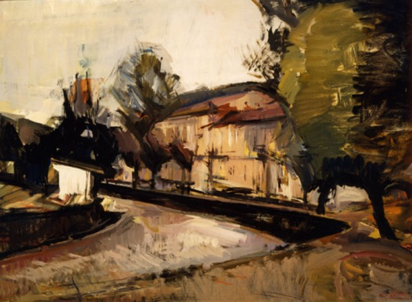 Florina, 1971, oil on hardboard, 70x80cm