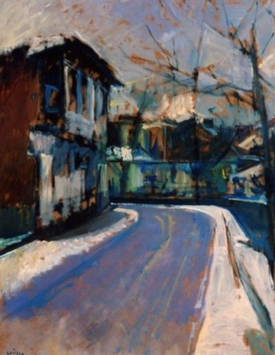 Florina, 1978, oil on hardboard, 80x60cm