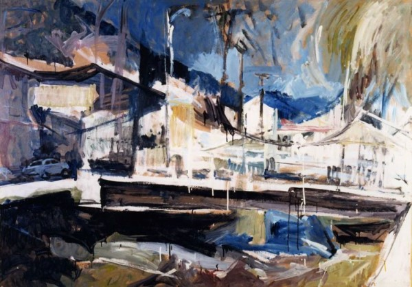 Florina, 1980, oil on hardboard, 125x165cm