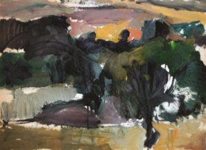 Landscape painting by Kostas Loustas