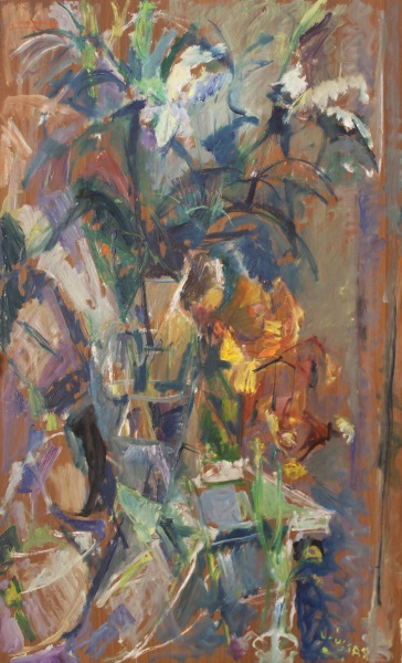 Summer 2007, oil on hardboard, 93x56cm