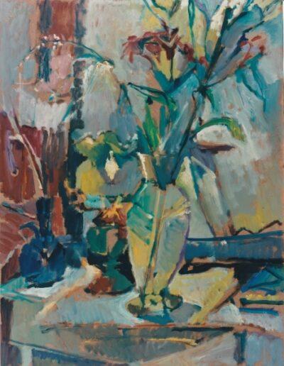 Elgar Collection, 1996, oil on hardboard, 73x56cm