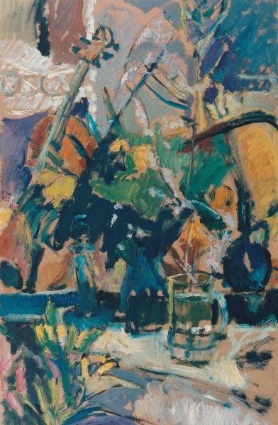 Elgar Collection, 1996, oil on hardboard, 87x54cm