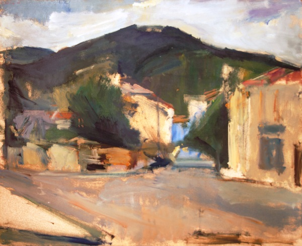 Florina, 1971, oil on hardboard, 61x74cm