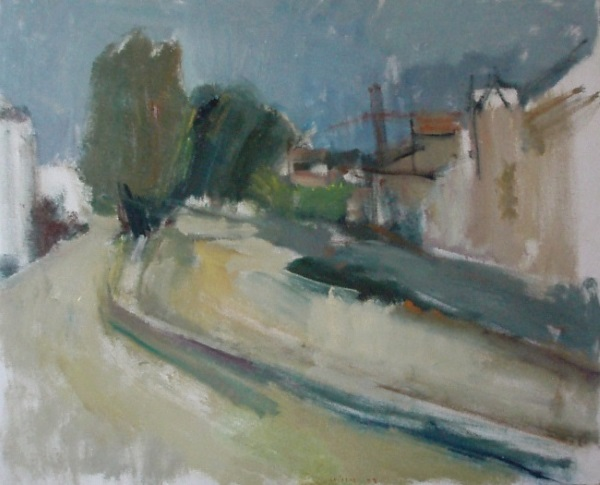 Florina, 1972, oil on hardboard, 60x75cm