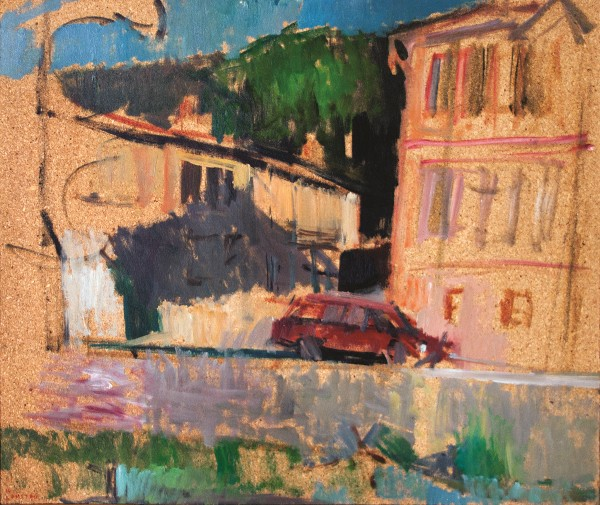 Florina, 1978, oil on hardboard, 51x61cm