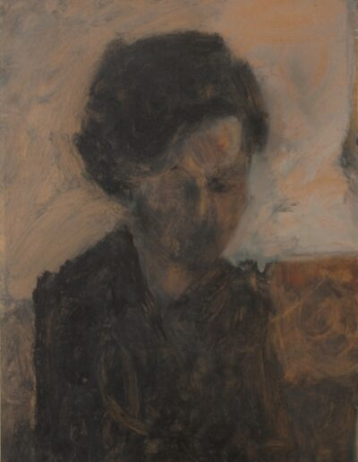 Stella, 1972, oil on hardboard, 68x46cm